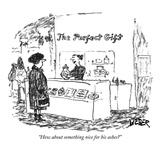 """How about something nice for his ashes"" - New Yorker Cartoon Premium Giclee Print by Robert Weber"