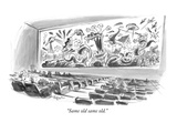"""Same old same old."" - New Yorker Cartoon Premium Giclee Print by Lee Lorenz"