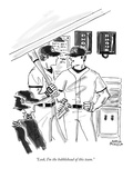 """Look, I'm the bobblehead of this team."" - New Yorker Cartoon Premium Giclee Print by Marisa Acocella Marchetto"