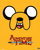 Adventure Time-Jake 25 Print