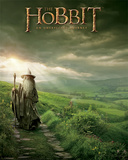 The Hobbit-Gandalf Julisteet