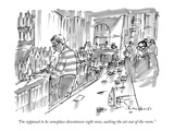 """I'm supposed to be someplace downtown right now, sucking the air out of t…"" - New Yorker Cartoon Premium Giclee Print by Michael Crawford"