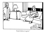 &quot;I don&#39;t believe in egrets.&quot; - New Yorker Cartoon Premium Giclee Print by Bruce Eric Kaplan