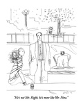 """He's not Mr. Right, he's more like Mr. Now."" - New Yorker Cartoon Premium Giclee Print by Richard Cline"