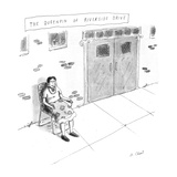 """The Queenpin of Riverside Drive"" - New Yorker Cartoon Premium Giclee Print by Roz Chast"