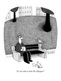 """It's not what it looks like, Margaret."" - New Yorker Cartoon Premium Giclee Print by J.C. Duffy"