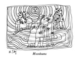 Moonbeams - New Yorker Cartoon Premium Giclee Print by William Steig