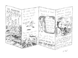 See Manhattan . . . By Car! - New Yorker Cartoon Regular Giclee Print by Roz Chast