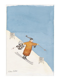Shopping Days' - New Yorker Cartoon Premium Giclee-trykk av Victoria Roberts
