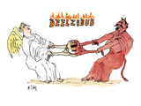 Beelzebub' - New Yorker Cartoon Premium Giclee Print by William Steig