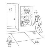 Billie Jo's - New Yorker Cartoon Premium Giclee Print by George Price