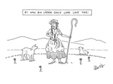 By Now, Bin Laden Could Look Like This: - New Yorker Cartoon Premium Giclee Print by Eric Lewis