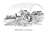"""Whoa! Move over, Thoreau."" - New Yorker Cartoon Regular Giclee Print by Mike Twohy"