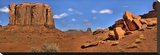 Monument Valley North Widow Stretched Canvas Print by Richard Desmarais
