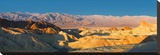 Zabriskie Point, Death Valley, Panoramic Duo I Stretched Canvas Print by Richard Desmarais