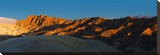 Zabriskie Point, Death Valley, Panoramic Duo II Stretched Canvas Print by Richard Desmarais