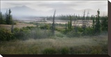 Alaska Highway Stretched Canvas Print by Richard Desmarais