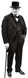 Winston Churchill Lifesize Standup Poster Stand Up