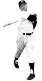 Mickey Mantle New York Yankees Lifesize Standup Poster Stand Up