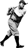 Babe Ruth New York Yankees Lifesize Standup Poster Stand Up