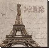 Paris I Stretched Canvas Print by Irena Orlov