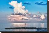 Clouscape at Sunrise Stretched Canvas Print by Vaughn Garner