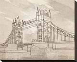 Tower Bridge, London Stretched Canvas Print by Irena Orlov