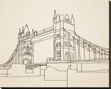 London Bridge Stretched Canvas Print by Irena Orlov