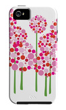 Pink Allium Funda de iPhone 5 por Avalisa,