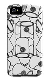 Black and White Paint Cans iPhone 5 Case by  Avalisa