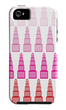 Pink Skyline, no. 2 iPhone 5 Case by  Avalisa