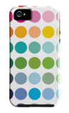 Rainbow Dots iPhone 5 Case by  Avalisa