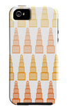 Orange Skyline iPhone 5 Case by  Avalisa