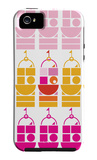 Orange Pink Castle iPhone 5 Case by  Avalisa