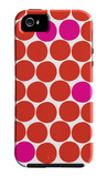 Red Pink Dots iPhone 5 Case by  Avalisa