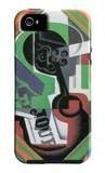 Whistle and Fruit Bowl of Grapes iPhone 5 Case by Juan Gris