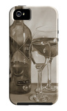 Black and White Wine Series II iPhone 5 Case by Jennifer Goldberger