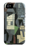 Houses in Beaulieu iPhone 5 Case by Juan Gris