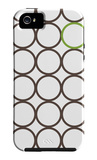 Brown Green Circles iPhone 5 Case by  Avalisa