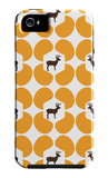 Orange Deer Hoof iPhone 5 Case by  Avalisa