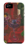 Wine Indulgences II iPhone 5 Case by Jennifer Goldberger