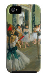 Ballet Class Funda de iPhone 5 por Edgar Degas