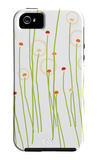 Orange Dandelion iPhone 5 Case by  Avalisa