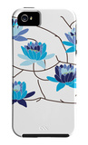 Blue Flowering Tree iPhone 5 Case by  Avalisa