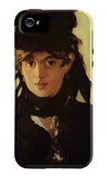 Berthe Morisot iPhone 5 Case by Édouard Manet