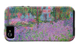 Artists Garden iPhone 5 Case por Claude Monet