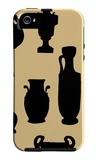 Urns in Silhouette II iPhone 5 Case por Vision Studio