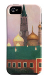 View of the Kremlin in Moscow iPhone 5 Case by Felix Vallotton