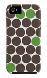 Green Dots iPhone 5 Case by  Avalisa