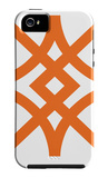 Orange Diamond iPhone 5 Case by Avalisa